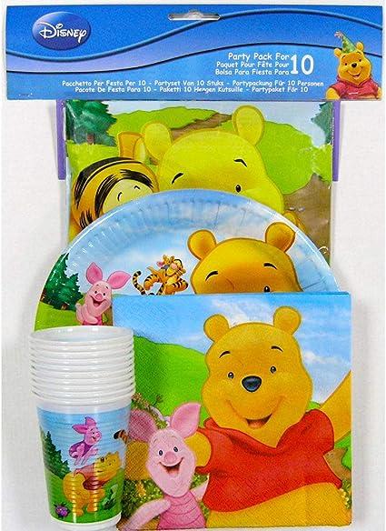 Pack fiesta Winnie the Pooh Disney: Amazon.es: Juguetes y juegos
