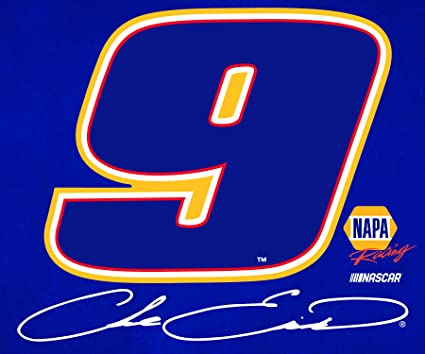 R and R Imports Inc Chase Elliott Number 9 Rectangle Magnet