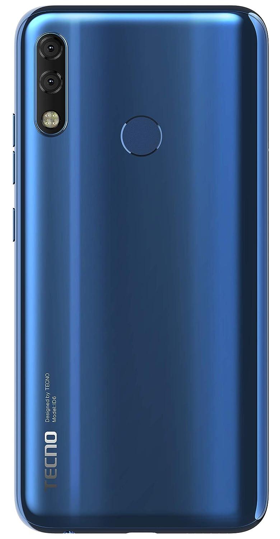 official photos b9db5 ba983 Tecno Camon iClick2 (13MP +5MP AI Rear Dual Camera & 24MP Selfie AI Camera)  4GB RAM + 64GB (Blue)