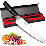 Professional Chef Knife - Becozier 8 Inch Pro Kitchen Knife, Chef's KnifeHigh Carbon German Stainless Steel Sharp Blade knife with Ergonomic Handle, Anti-rust Kitchen Knife for Cooking