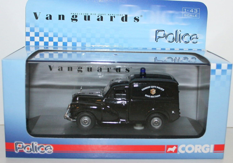 Morris Minor Van Cardiff Police schwarz Vanguards