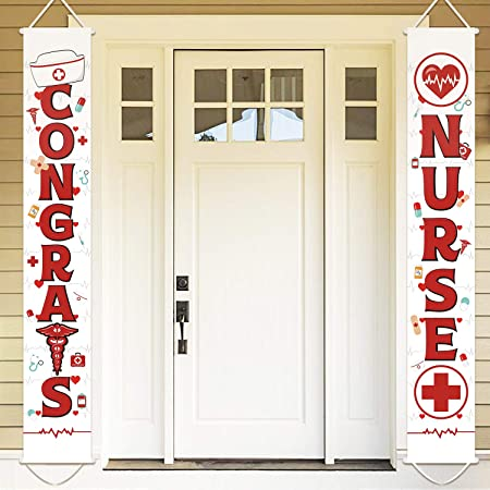 Congrats Nurse Porch Sign