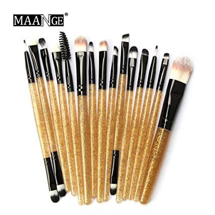 latest models best selling Glitter Makeup Brush Set tools make-up Brushes Set Kit Shiny