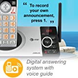 AT&T DECT 6.0 Expandable Cordless Phone with