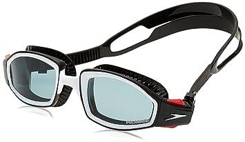 c6da3d3885e Speedo Unisex s Biofuse Futura Bio Fuse Pro Polarised Goggles-Smoke Black