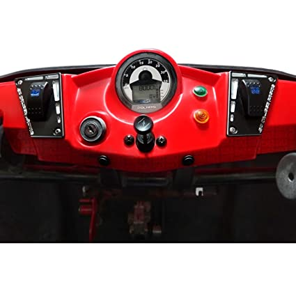 Amazon com: Polaris RZR 170 Dash Panel - Powdercoated Black
