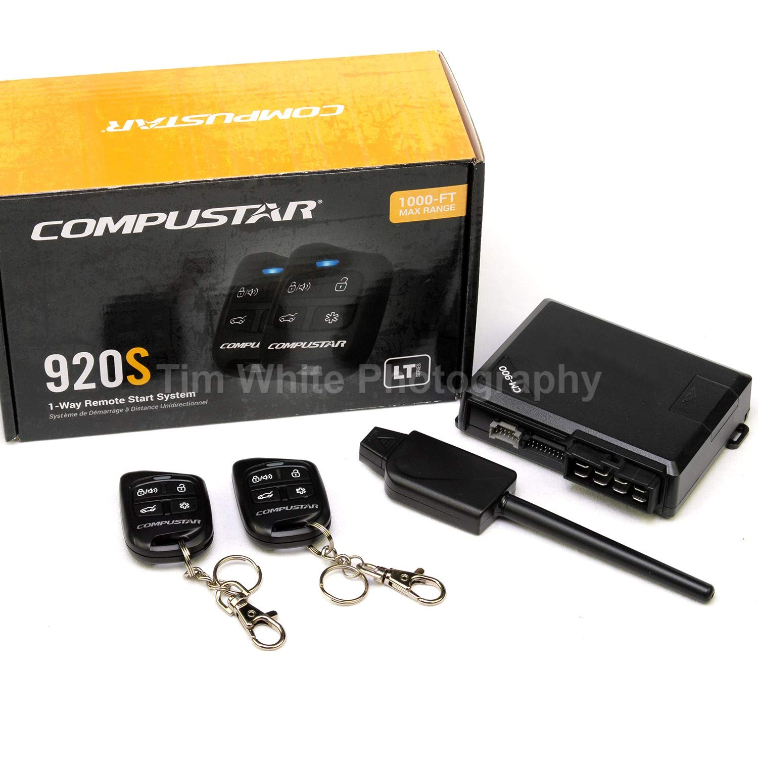 Compustar CS920-S (920S) 1-way Remote Start and Keyless Entry System with 1000-ft Range by Compustar (Image #3)