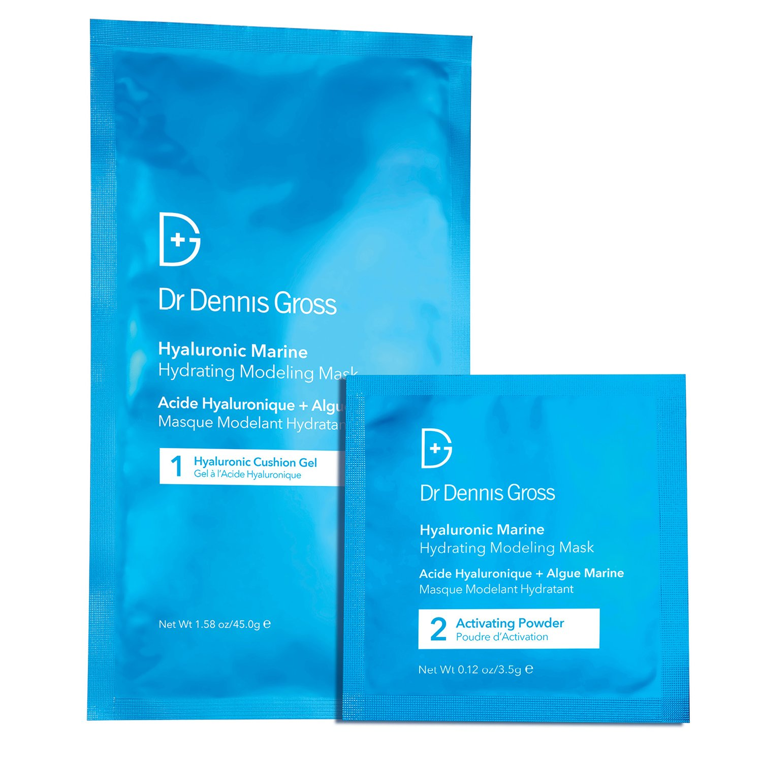 Dr Dennis Gross Hyaluronic Marine Hydrating Modeling Mask 4 Treatments