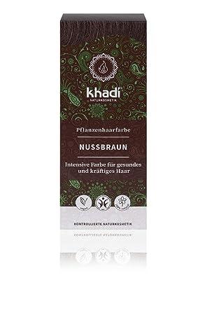 128fdc64e KHADI - Herbal Hair Colour Natural Hazel - Long-lasting - 100% herbal