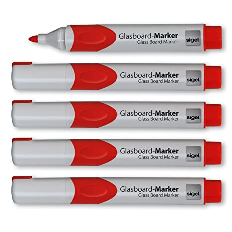 Amazon.com : Sigel GL711 2-3 mm Round Nib Non-Permanent Ink ...