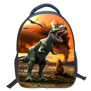 e6cf77256e73 ParaCity Kids Backpacks 3D Vivid Animal Print Backpack Toddler Kid Neoprene School  Bags Hiking Daypacks for