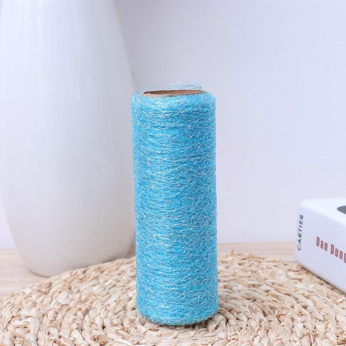 Yellow HEALLILY Tulle Ribbon Netting Rolls Organza Fabric for Wedding Decoration Bow Tutu Skirt DIY Craft Sewing 15cm 10 Yards