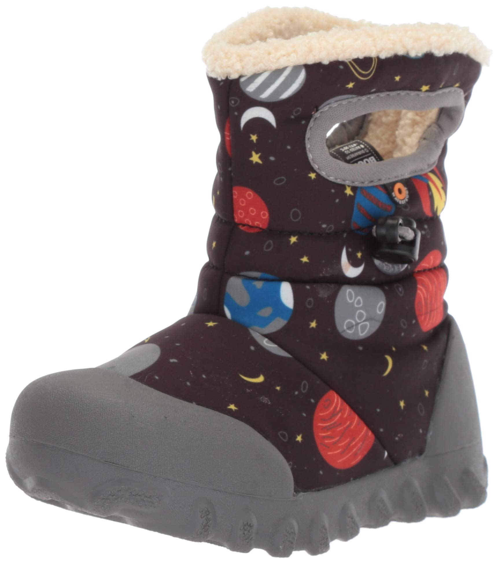 Bogs Baby B-Moc Waterproof Insulated Kids/Toddler Winter Boot, Space Print/Black/Multi, 10 M US