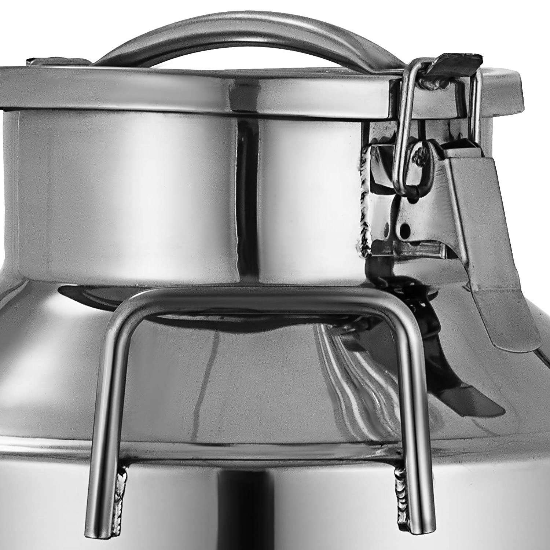 Machabeau 50L Pot /à Lait en Acier Inoxydable Bidon de Lait