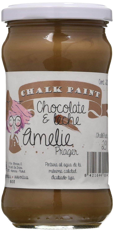 Amelie Prager 280-29 Pintura a la Tiza, Chocolate con Leche, 280 ml