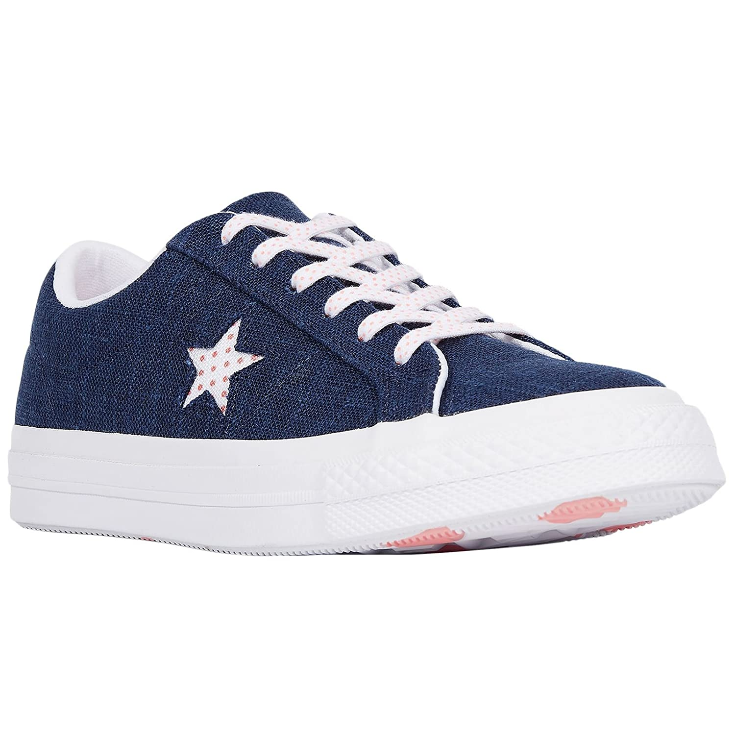 | Converse Mens One Star Ox Chambray Trainers