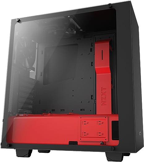 NZXT - Caja de Ordenador S340 Elite Formato ATX con Cristal ...
