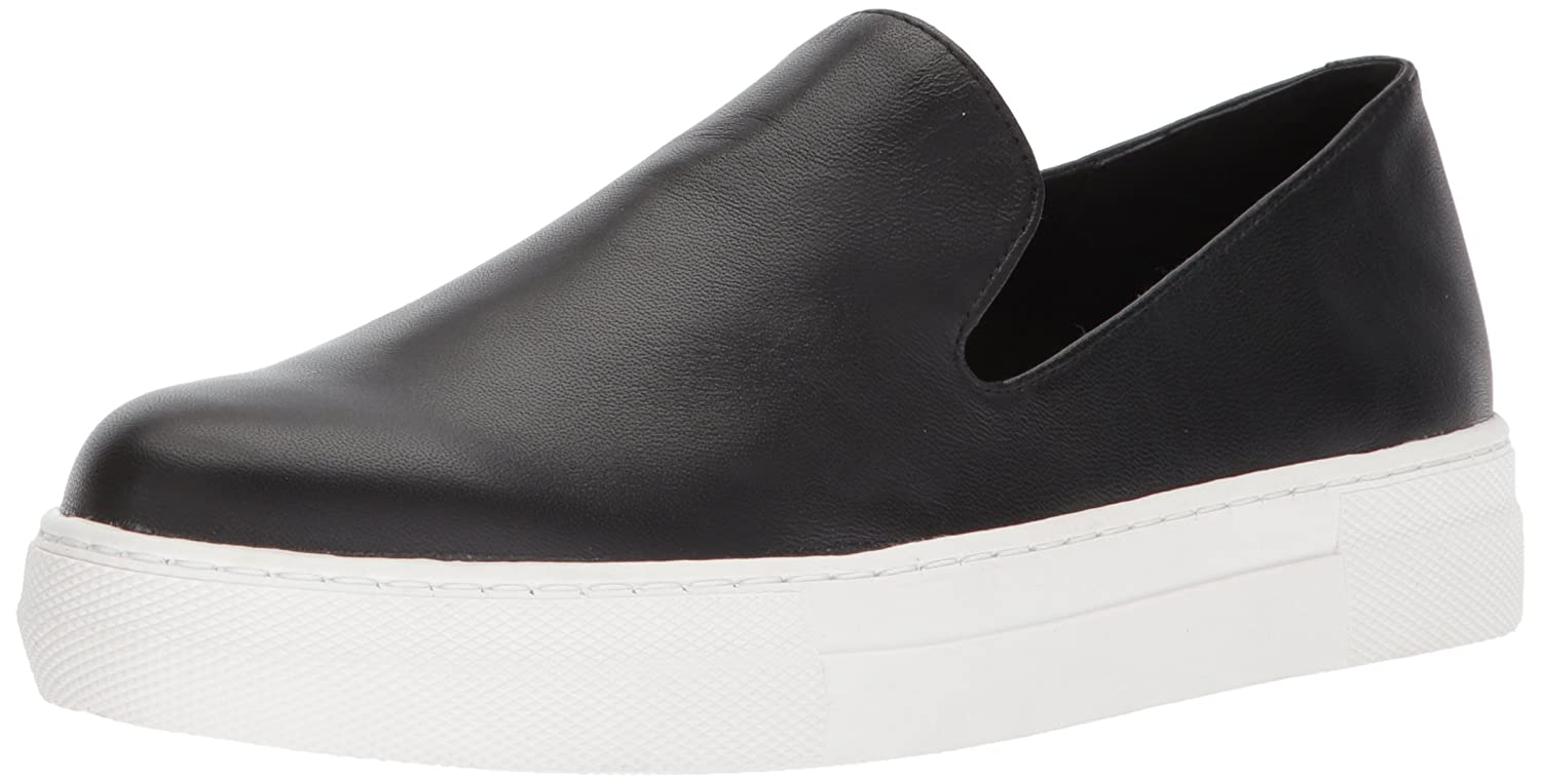STEVEN by Steve Madden Women's Arden Sneaker B07643QMMY 8 B(M) US|Black Leather