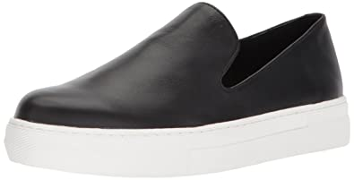8afad298ad6 STEVEN by Steve Madden Women s Arden Sneaker Black Leather 6 ...