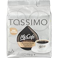 TASSIMO MCCAFE Premium Roast Coffee  116G