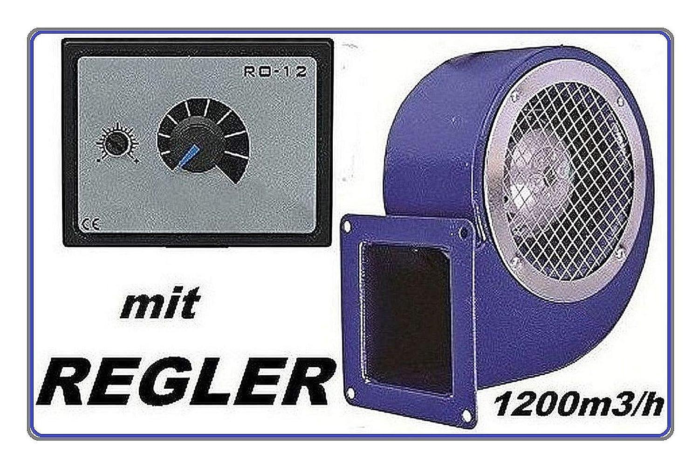 centrifugo ventola radiale SG160ER con regolatore di velocit/à da 500 Watt Ventilatore radiale industriale