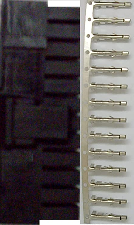 1 Set 24 Pin 24P Male ATX PSU Computer Power Supply Connector Terminal Pins New