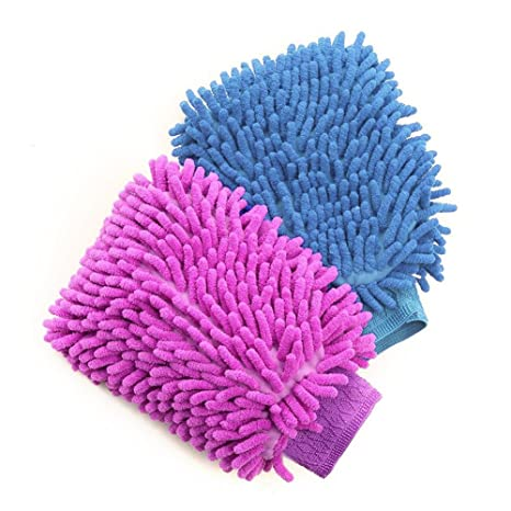 car wash gloves	  Amazon.com: House Cleaning and Car Washing Gloves, BesMelody Home ...