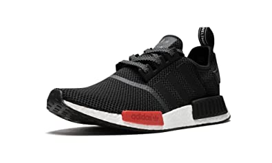 3d9a876eb Adidas NMD R1 Footlocker Exclusive - Black White Red  Amazon.co.uk ...