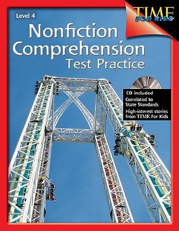 Nonfiction Comprehension Test Practice Level 4: Shell Education ...