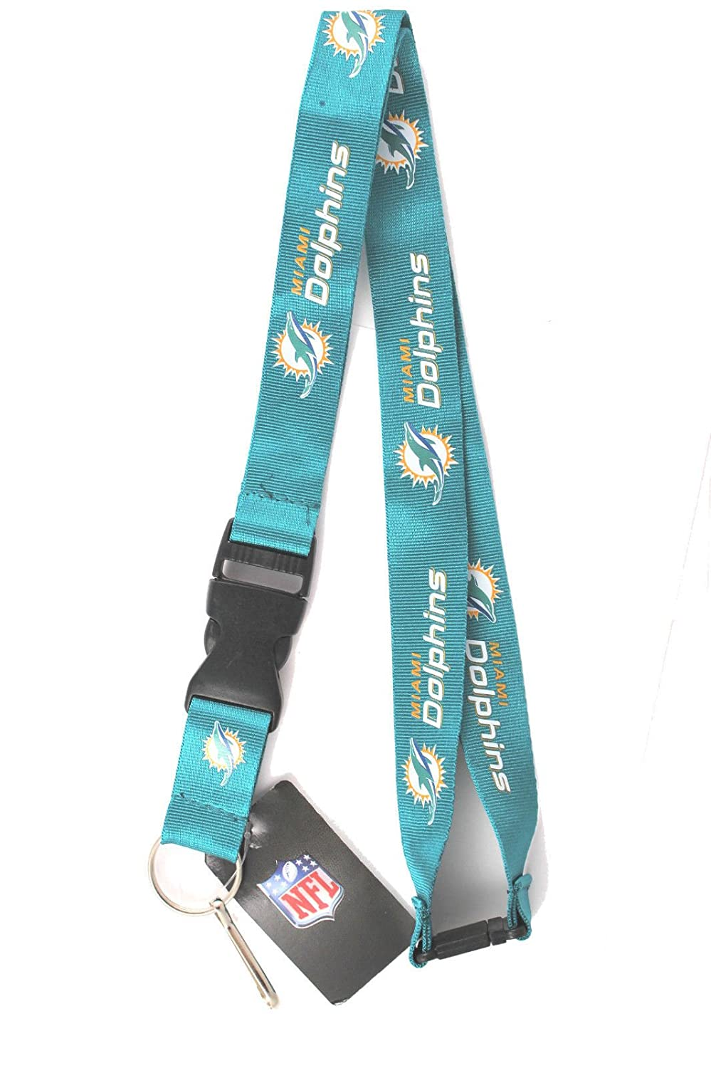 Miami Dolphins Lanyard With Velcro Safety Fastener