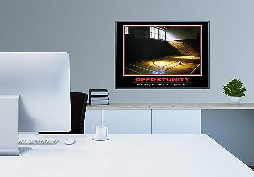 GREAT ART Opportunity Poster Original - Barney Stinson Wall Poster - 85 x 60 cm Baloncesto cómo conocí a tu Madre motivación Barney Stinson Oficina Oportunidad Cuadro póster - No. 11: Amazon.es: Hogar