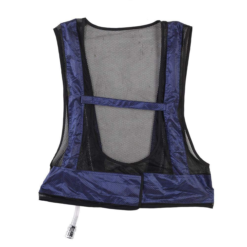 Garosa Cooling Vest Adjustable Vortex Tube Air Conditioner Waistcoat Cooling Vest with Cooler Comfortable Summer Sunstroke Prevention Clothes