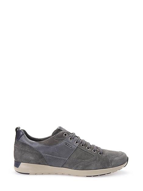 Geox U54F8D 022ME Sneakers Uomo Grigio 46  Amazon.it  Scarpe e borse 7e3a4a67186