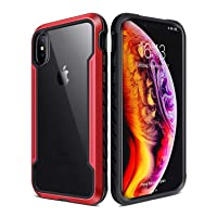 iPhone X XS Case Double Series Military Grade Drop Protection Hybrid Heavy Duty...
