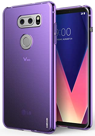 LG V30 / LG V30S / LG V30 Plus/LG V30S ThinQ/LG V35 / LG V35 ThinQ Case, CASEVASN [Slim Thin] Anti-Scratches Flexible TPU Gel Slim Fit Soft Skin ...