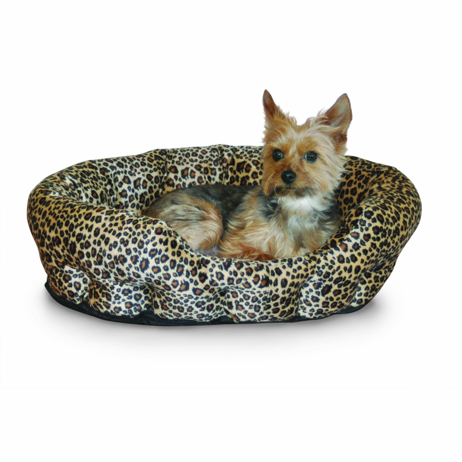 K&H Self-Warming Nuzzle Nest Pet Bed