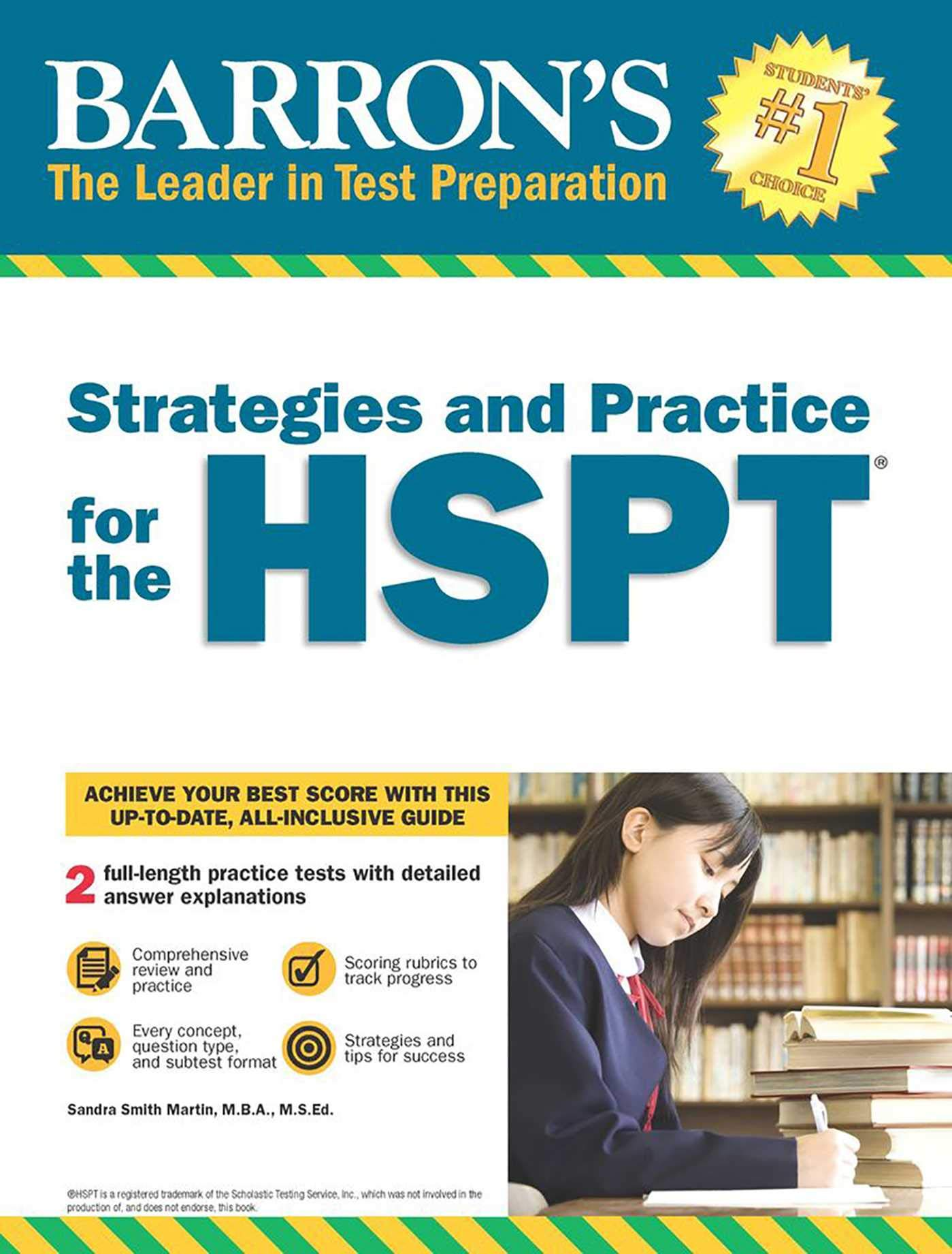Strategies And Practice For The Hspt Barron S Strategies And Practice For The Hspt Martin Sandra 9781438010946 Amazon Com Books