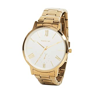 Parfois - Reloj Gold - Mujeres - Tallas Única - Dorado: Amazon.es: Relojes