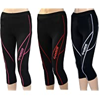 Zimco Elite Women Compressio n Knicker Base Layer Running Skin 3/4 Tight Pant