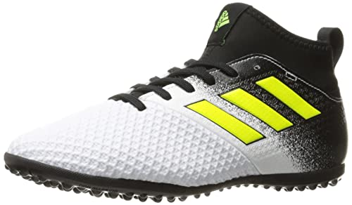 666c914b933c Adidas Kid's Boy's Junior Ace Tango 17.3 Turf Soccer Shoes, Footwear  White/Solar Yellow