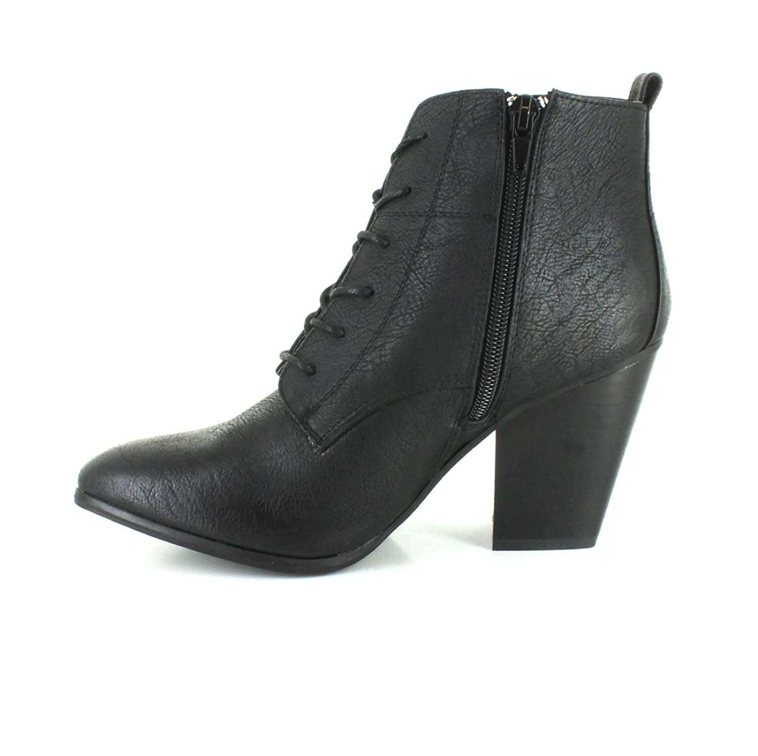 99ac723a441e Wynsors New Ladies Black Mid Heel Ankle Boots with A Victorian Theme On  Trend - Black - UK Size 8  Amazon.co.uk  Shoes   Bags