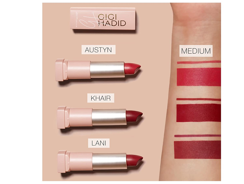 Buy Maybelline New York Gigi Hadid Lipstick Gg24 Lani 39g Online