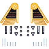 BI-DTOOL Double Featherboards, 2 Packs Adjustable Feather Boards for Table Saw Bandsaw Fence Router Table and Table Saw Fence