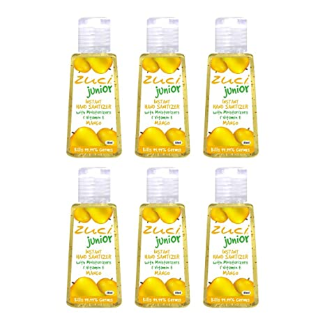 Buy Zuci Mango Hand Sanitizer Pack Of 6 Online At Low Prices In