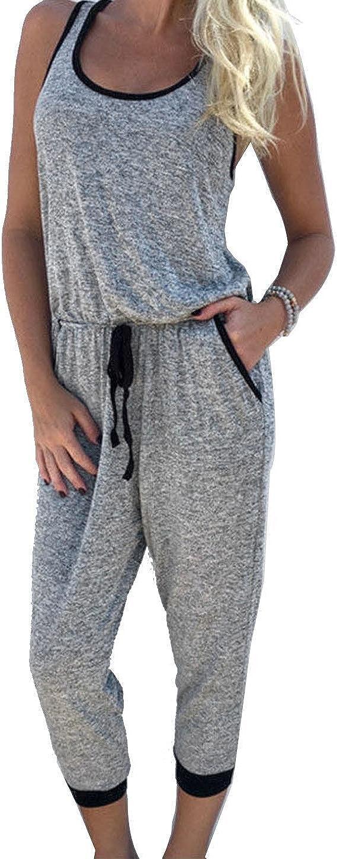 etuoji Women Jumpsuit Women Bodycon Sport Suit Women Sports Suit Jumpsuits /& Rompers