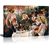 """wall26 Luncheon of the Boating Party by Pierre-Auguste Renoir - Canvas Wall Art Famous Fine Art Reproduction