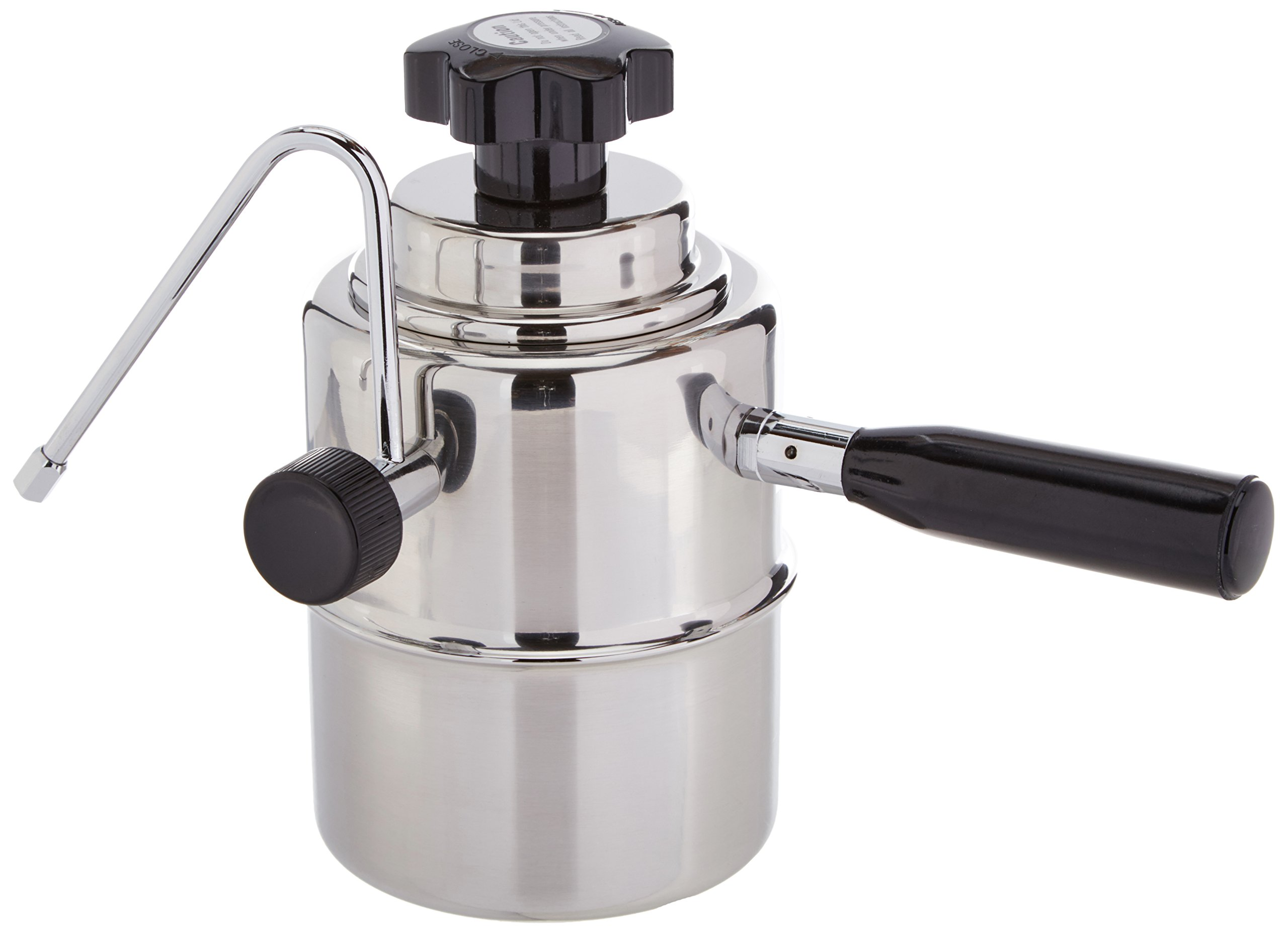 European Gift 50SS Stove-Top Stainless Steel Frother
