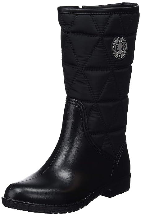 2e56498a441 Coronel Tapiocca Bota Media Agua Negro, Botas Mujer: Amazon.es: Zapatos y  complementos