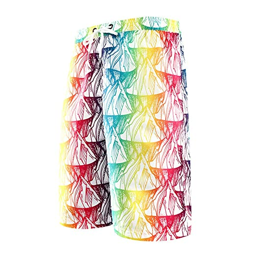 bc2448b72a Image Unavailable. Image not available for. Color: Simayixx Men's Quick Dry Swim  Trunks Bathing Suits ...