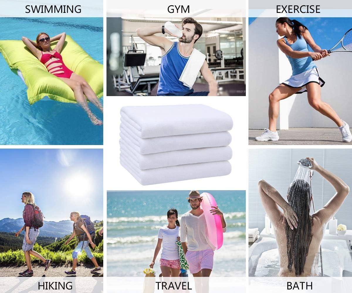 VIVOTE Microfibre Gym Serviettes Sport Sweat Serviette Super Absorbant Ultra-Doux Multi-Usage Homme Femmes Fitness Entra/înement Voyage Camping Randonn/ée Yoga 40 X 80 CM